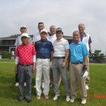 高校OB対抗ゴルフ大会で岡工A:総合3位、シニア3位
